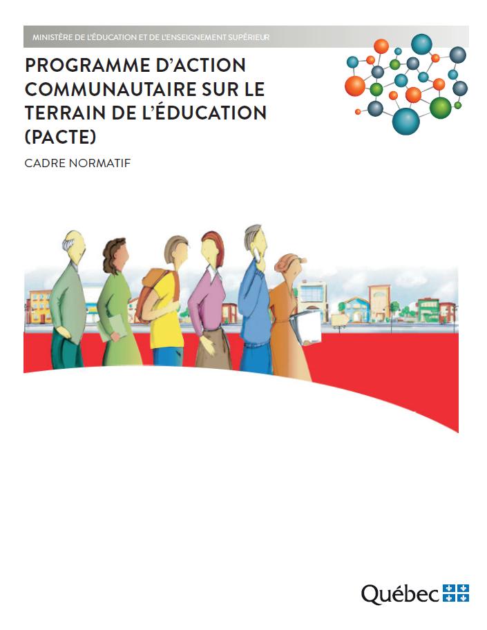 Page couverture du Cadre normatif du PACTE