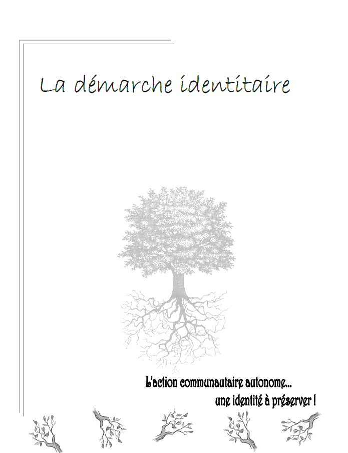 Document de la démarche identitaire