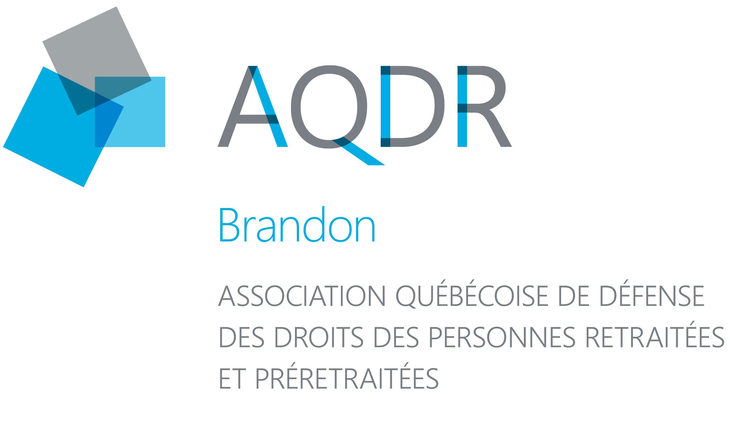 Logo de l'AQDR-Brandon