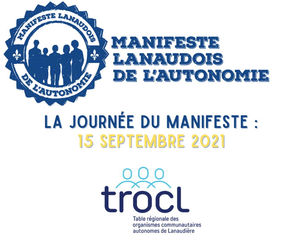 Vignette de la Journée du Manifeste lanaudois de l'autonomie - TROCL