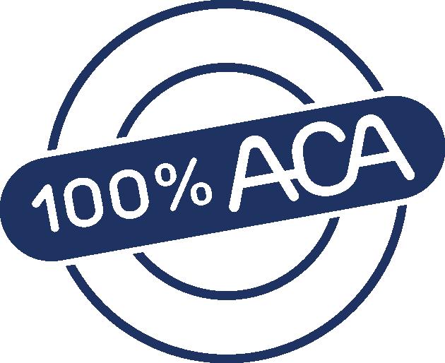 Sceau de l'ACA - 100 % ACA