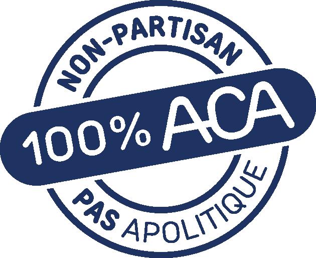 Sceau de l'ACA - non-partisan pas apolitique - TROCL