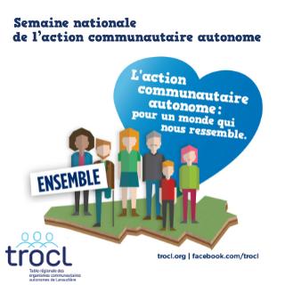 Vignette de la Semaine nationale de l'action communautaire autonome - TROCL