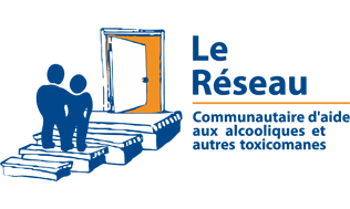Logo Le Réseau communautaire d'aide aux alcooliques et autres toxicomanes